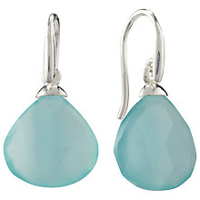 Buy John Lewis Gemstones Silver Plated Earrings Online at johnlewis.com