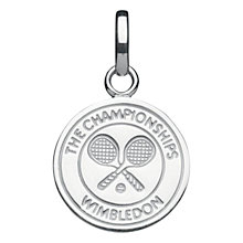 Buy Links of London Cross Racquet Charm, Silver Online at johnlewis.com