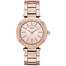Buy DKNY NY2285 Women's Stanhope Bracelet Watch, Rose Gold Online at johnlewis.com