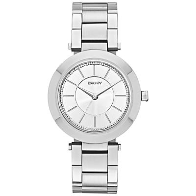 DKNY NY2285 Women's Stanhope Stainless Steel Bracelet Strap Watch, Silver