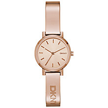 Buy DKNY Women's Soho Silver Stainless Steel Bracelet Strap Watch Online at johnlewis.com