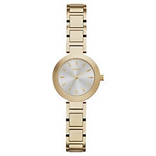 Buy DKNY NY2253 Women's Stanhope Bracelet Watch, Gold/Silver Online at johnlewis.com