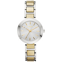 Buy DKNY NY8832 Women's Stanhope Bracelet Watch, Silver/Gold Online at johnlewis.com