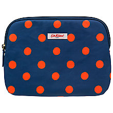 Buy Cath Kidston Button Spot Case for iPad Mini, Navy Online at johnlewis.com
