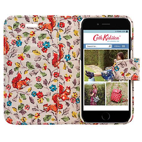 buy cath kidston folio case for iphone 6 john lewis. Black Bedroom Furniture Sets. Home Design Ideas