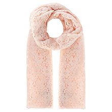 Buy Coast Lace Wrap, Blush Online at johnlewis.com