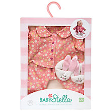 Buy Baby Stella Goodnight PJ Set Online at johnlewis.com