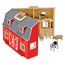 Buy Melissa & Doug Fold & Go Barn Online at johnlewis.com