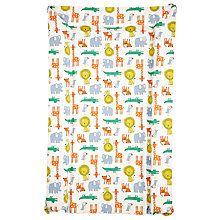 Buy John Lewis Noah's Ark Changing Mat & Liner, White/Multi Online at johnlewis.com