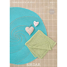 Buy Sirdar Snuggly 4 Ply Crochet Pattern, 4511 Online at johnlewis.com