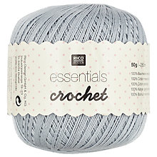 Buy Rico Essentials Crochet, 50g Online at johnlewis.com