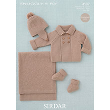 Buy Sirdar Snuggly 4 Ply Knitting Pattern, 4507 Online at johnlewis.com