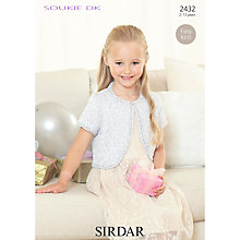 Buy Sirdar Soukie DK Knitting Pattern, 2432 Online at johnlewis.com