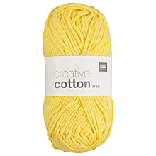 Buy Rico Creative Cotton Aran Yarn, 50g Online at johnlewis.com