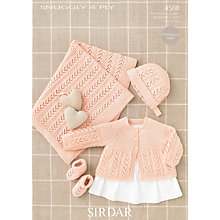 Buy Sirdar Snuggly 4 Ply Crochet Pattern, 4508 Online at johnlewis.com