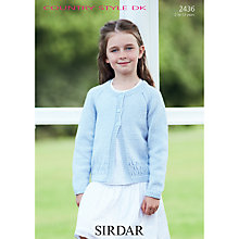 Buy Sirdar Country Style DK Knitting Pattern, 2436 Online at johnlewis.com