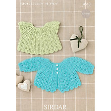Buy Sirdar Snuggly 4 Ply Crochet Pattern, 4510 Online at johnlewis.com