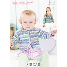 Buy Sirdar Snuggly Baby Crofter DK Knitting Pattern, 4516 Online at johnlewis.com