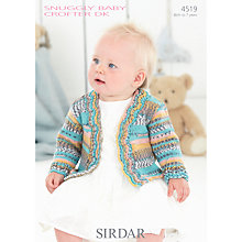 Buy Sirdar Snuggly Baby Crofter DK Knitting Pattern, 4519 Online at johnlewis.com