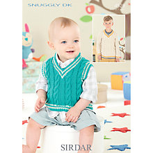 Buy Sirdar Snuggly DK Knitting Pattern, 4529 Online at johnlewis.com