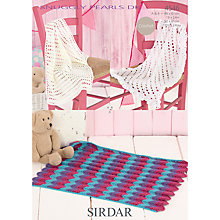 Buy Sirdar Snuggly Pearls DK Crochet Pattern, 4546 Online at johnlewis.com
