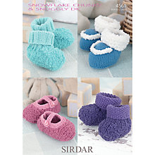 Buy Sirdar Snowflake Chunky & Snuggly DK Knitting Pattern, 4561 Online at johnlewis.com