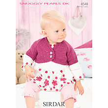 Buy Sirdar Snuggly Pearls DK Knitting Pattern, 4548 Online at johnlewis.com