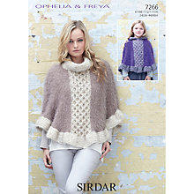 Buy Sirdar Ophelia Fashion Knitting Pattern, 7266 Online at johnlewis.com