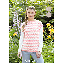 Buy Sirdar Wash 'n' Wear DK Crochet Pattern, 7222 Online at johnlewis.com