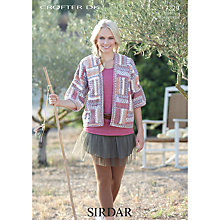 Buy Sirdar Crofter DK Knitting Pattern, 7229 Online at johnlewis.com