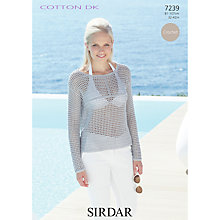 Buy Sirdar Crofter DK Crochet Pattern, 7239 Online at johnlewis.com