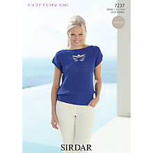 Buy Sirdar Crofter DK Knitting Pattern, 7237 Online at johnlewis.com