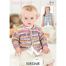 Buy Sirdar Snuggly Baby Crofter DK Knitting Pattern, 4518 Online at johnlewis.com