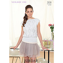 Buy Sirdar Soukie DK Knitting Pattern, 7210 Online at johnlewis.com