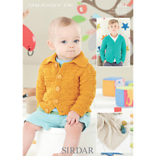 Buy Sirdar Snuggly DK Knitting Pattern, 4526 Online at johnlewis.com