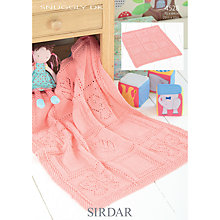 Buy Sirdar Snuggly DK Knitting Pattern, 4528 Online at johnlewis.com