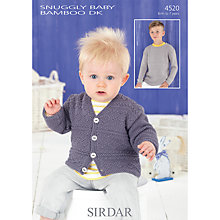 Buy Sirdar Snug Baby Bamboo DK Knitting Pattern, 4520 Online at johnlewis.com