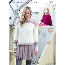 Buy Sirdar Ophelia Fashion Knitting Pattern, 7265 Online at johnlewis.com