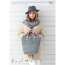 Buy Hayfield Super Chunky with Wool Knitting Pattern, 7242 Online at johnlewis.com