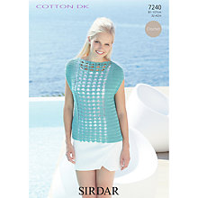 Buy Sirdar Crofter DK Knitting Pattern, 7240 Online at johnlewis.com