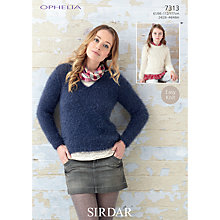 Buy Sirdar Ophelia Fashion Knitting Pattern, 7313 Online at johnlewis.com