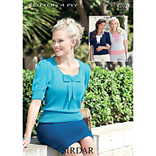 Buy Sirdar Cotton 4 Ply Knitting Pattern, 7309 Online at johnlewis.com