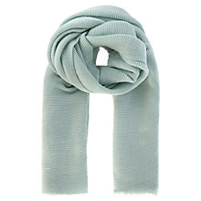 Buy Coast Textured Scarf, Mint Online at johnlewis.com
