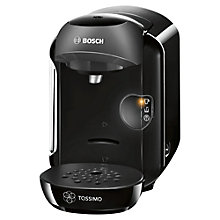 Buy Bosch Tassimo TAS1252GB Vivy 2 Multi-Beverage Machine, Black Online at johnlewis.com
