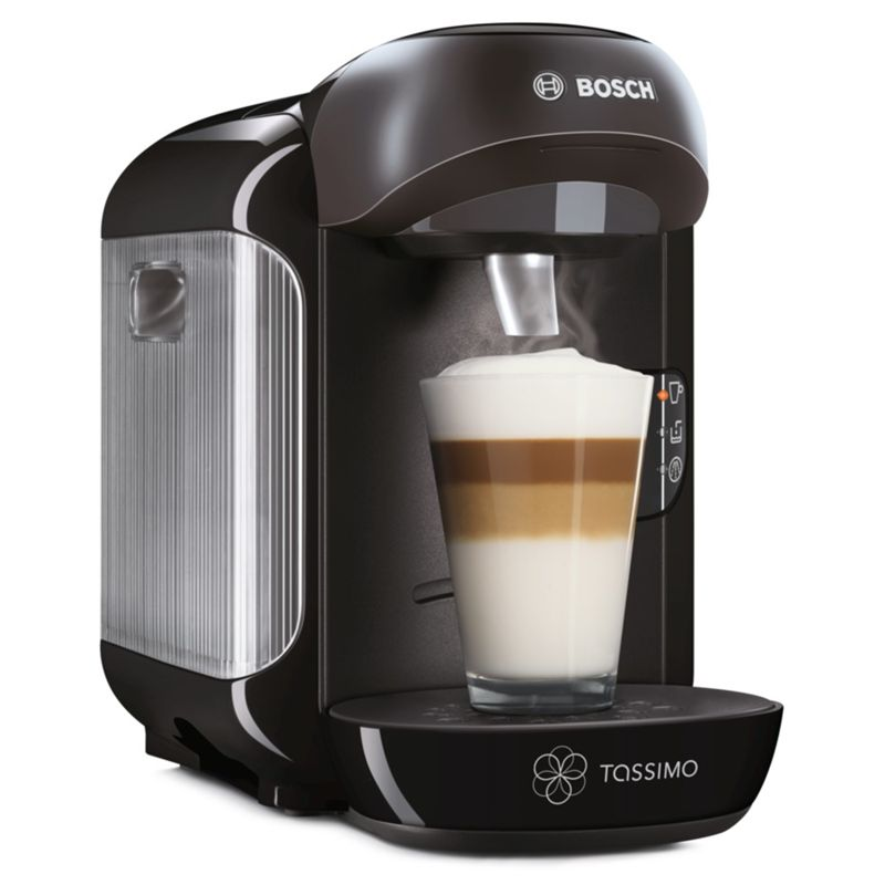 John Lewis Bosch Tassimo Coffee Maker : Buy Bosch Tassimo TAS1252GB Vivy 2 Multi-Beverage Machine, Black John Lewis