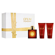 Buy Yves Saint Laurent Opium Eau de Toilette Gift Set Online at johnlewis.com