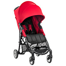 Buy Baby Jogger City Mini ZIP® Pushchair, Red Online at johnlewis.com