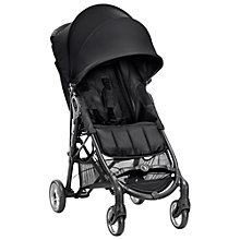 Buy Baby Jogger City Mini ZIP® Pushchair, Black Online at johnlewis.com