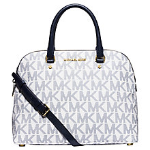 Buy Michael Kors Cindy Large Dome Satchel Online at johnlewis.com