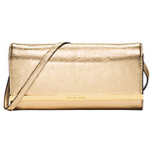 Buy MICHAEL Michael Kors Lana Leather Clutch Bag Online at johnlewis.com
